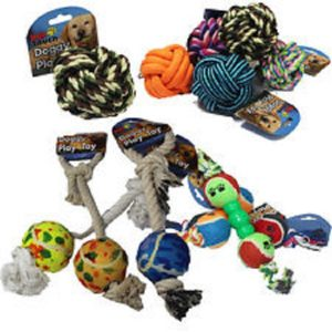 Dog Rope & Ball Toys